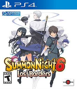 Summon Night 6 Lost Borders para PS4