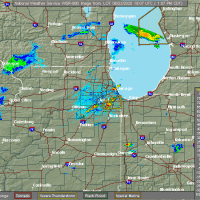 Radar Image for Severe Thunderstorms near Joliet, IL at 6/22/2020 1:15 PM CDT