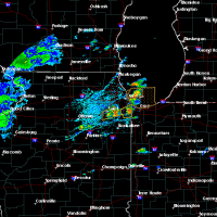 Radar Image for Severe Thunderstorms near Joliet, IL at 6/22/2020 2:00 PM CDT