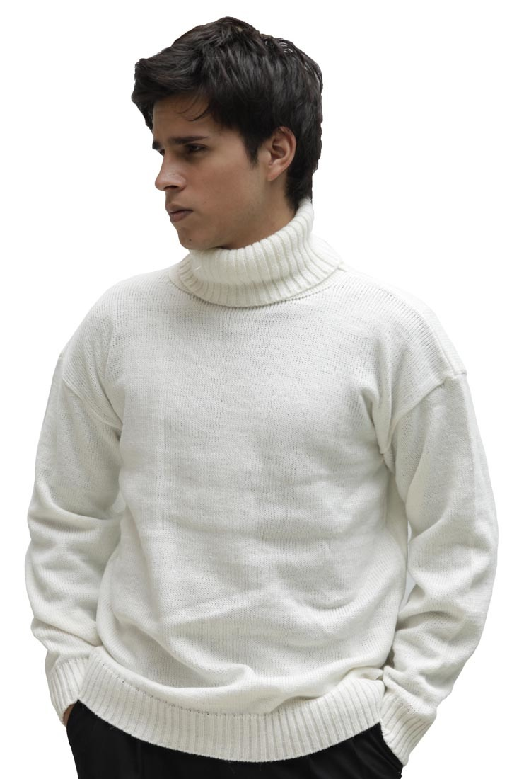 Fisherman Cable Knit Turtleneck Sweaters