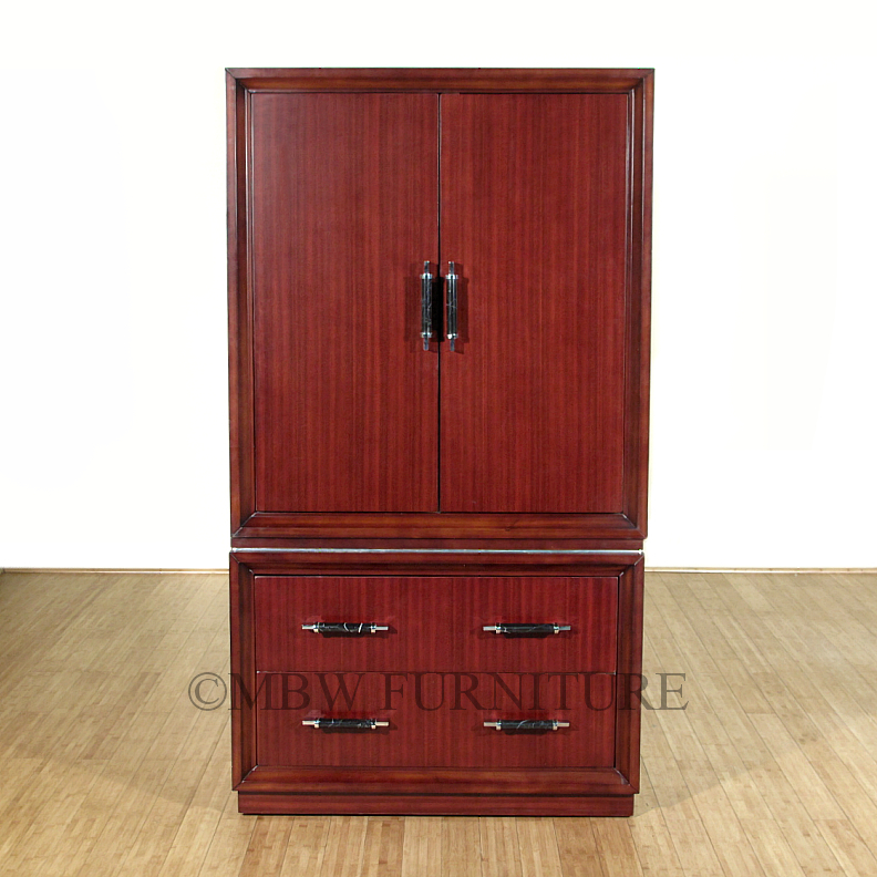 Cherry Wood Armoire Wardrobe