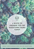 4 ways to answer yes no questions using tarot 3