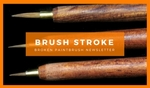 Brush-stroke