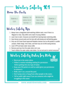Water safety 101 2