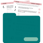 Debt reduction cheat sheet preview   transparent 500
