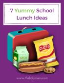 7 fun school lunch ideas cover