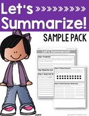 Summarizing sample pack  cover