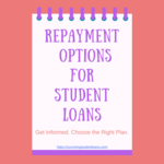 Landing page repayment options