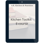 Kitchen toolkit ecourse