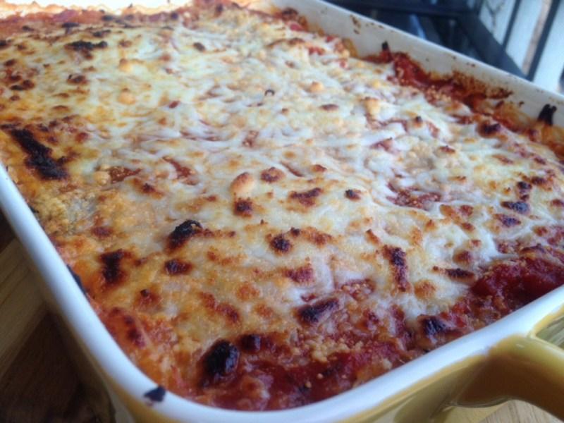 Turkey Spaghetti Squash Lasagna - Cooking Up Happiness