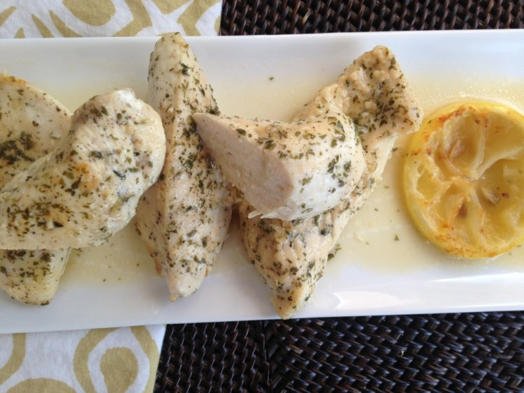 Easy Lemon Garlic Chicken