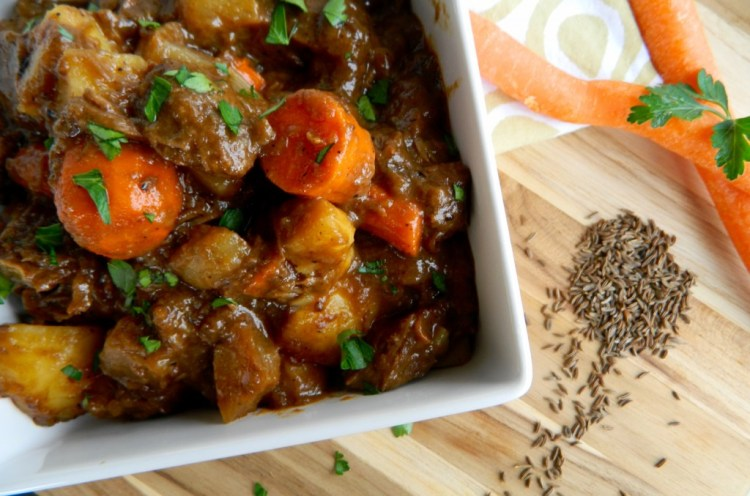 Guinness Stew - Cooking Up Happiness