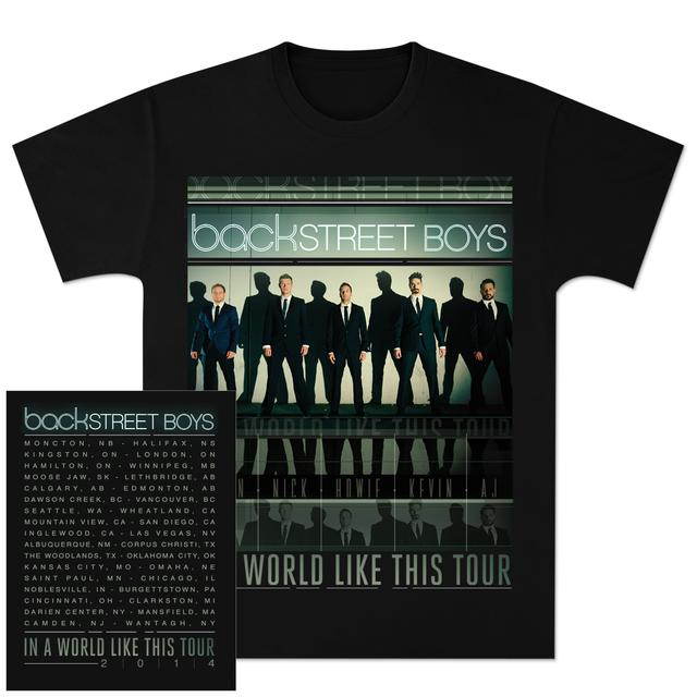 Back Stree Boys 2014 Tour Tee