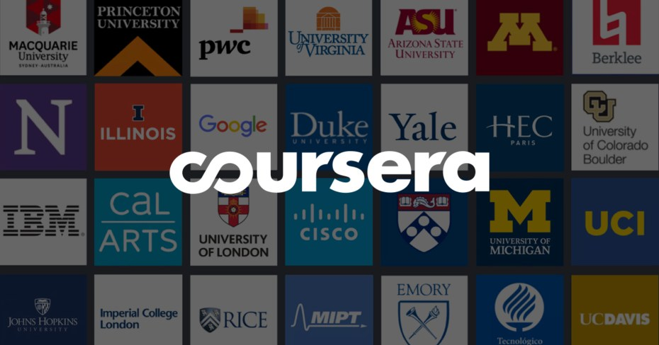 Coursera | Build Skills with Online Courses from Top Institutions