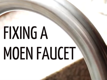 fixing a leaky moen kitchen faucet