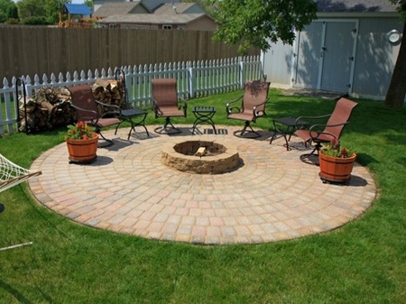 diy fire pit and patio craftfoxes