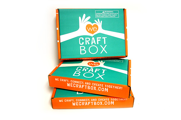We Craft Box 3-month renewing subscription