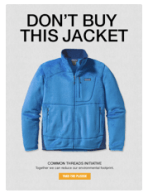 Patagonia: Don't Buy This Jacket