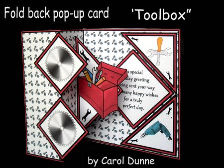 Fold Back Pop Toolbox CUP582338173 Craftsuprint