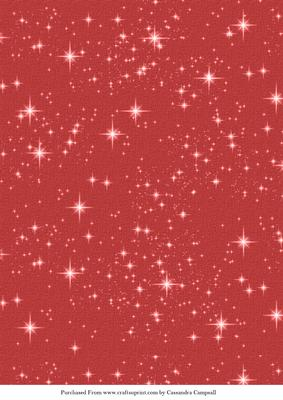 Red A4 Christmas Sparkle Background CUP2743811121