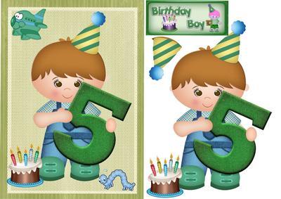 Happy Birthday 5 Year Old Boy Cup432787 1398 Craftsuprint
