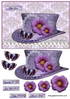 Vintage Hat 5 Cup549423 936 Craftsuprint