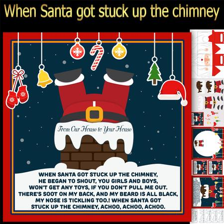 When Santa Got Stuck Up The Chimney Mini Kit CUP657450