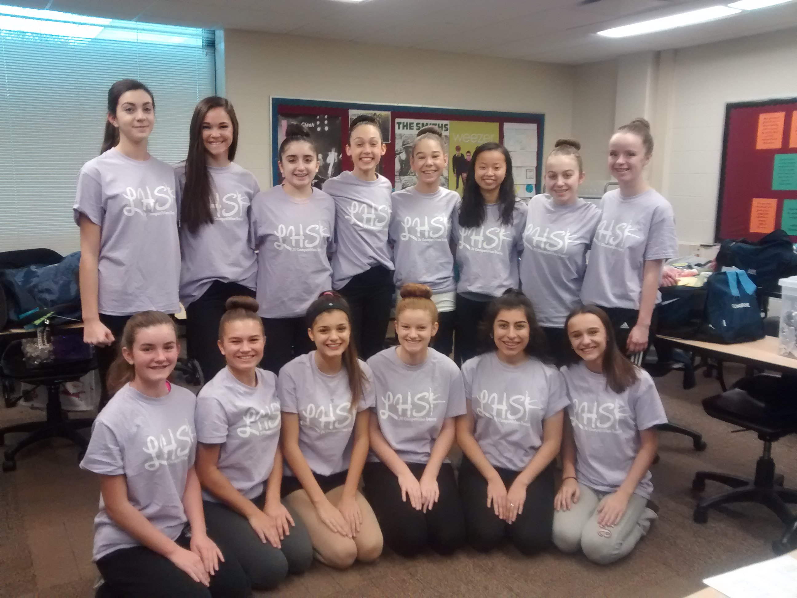 Lemont High School Dance Team