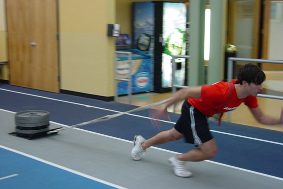 Weight training for sprinting