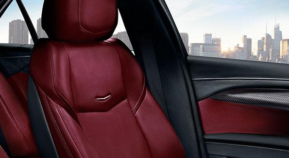 2017 Cadillac Ats Morello Red Interior
