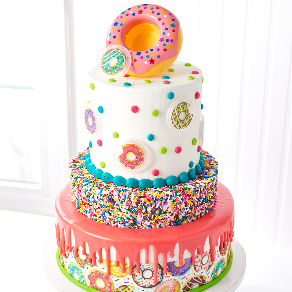 Donut DecoSet Stacked Cake Design DecoPac