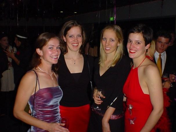 Jo, Axl, Cris and Tamsyn @ Amanda's 21st