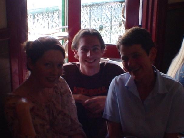 Peta, Tim and Robyn