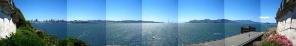 Alcatraz Recreation Yard View