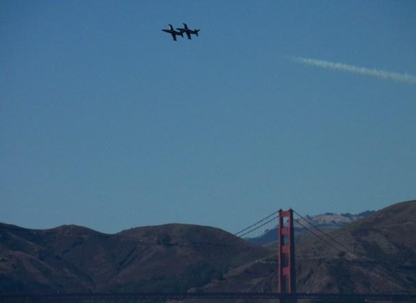 Jets Over The Bridge