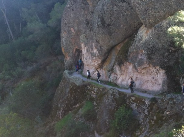Hiking at The Pinnacles, CA