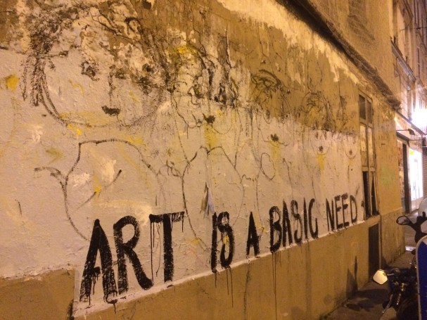 Art is a Basic Need