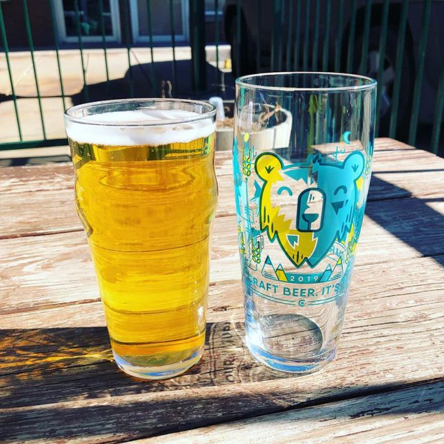 Rad pint glass from @spangalangbrewery. 