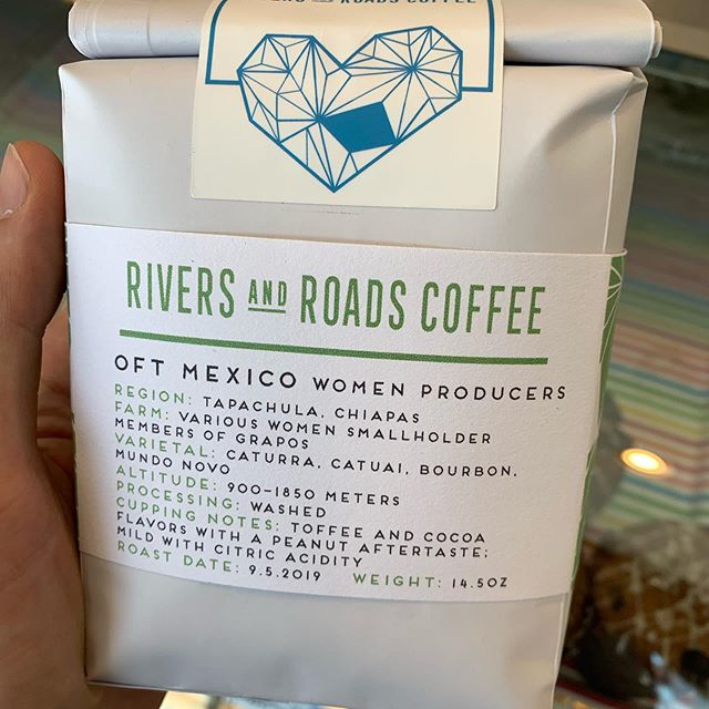 Went on a #rinocoffeecrawl today and bought a bunch of bags. #rino #denver #coffee