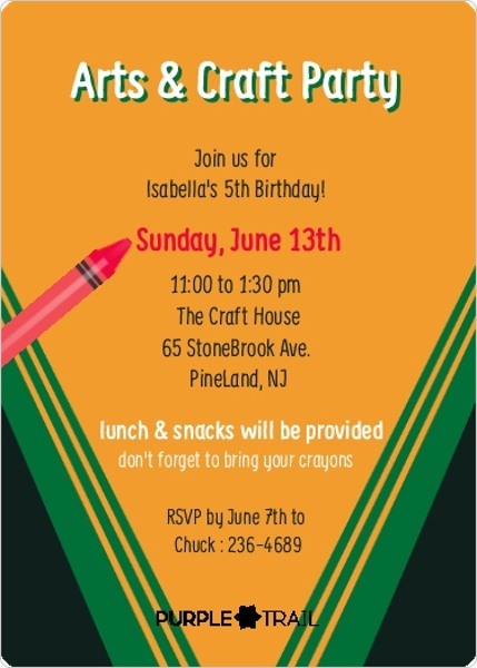 Creative Graduation Party Invitations