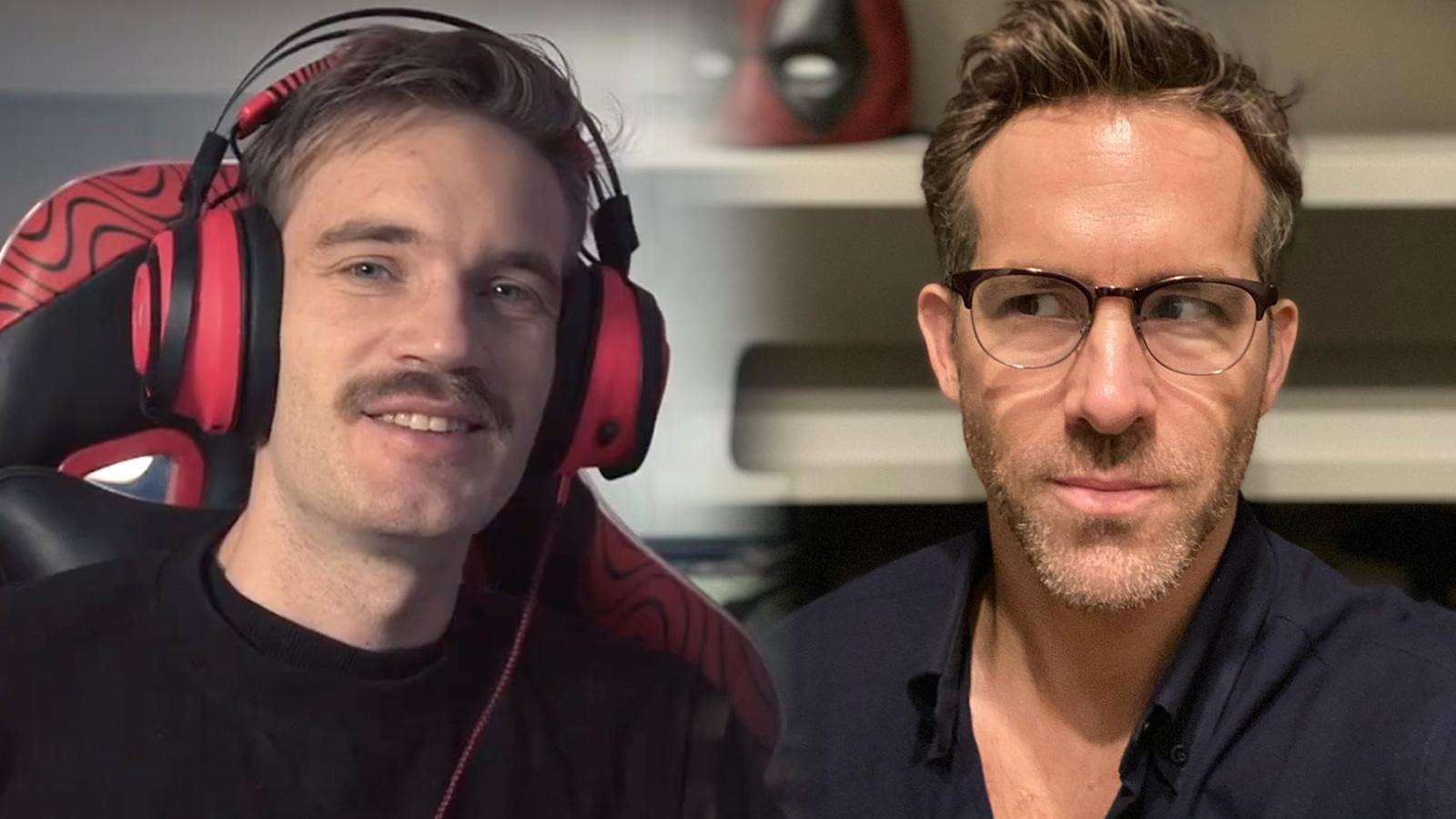 """TT :  PewDiePie révèle comment il a fait Ryan Reynolds """"sale"""" avec une histoire hilarante , influenceur"""