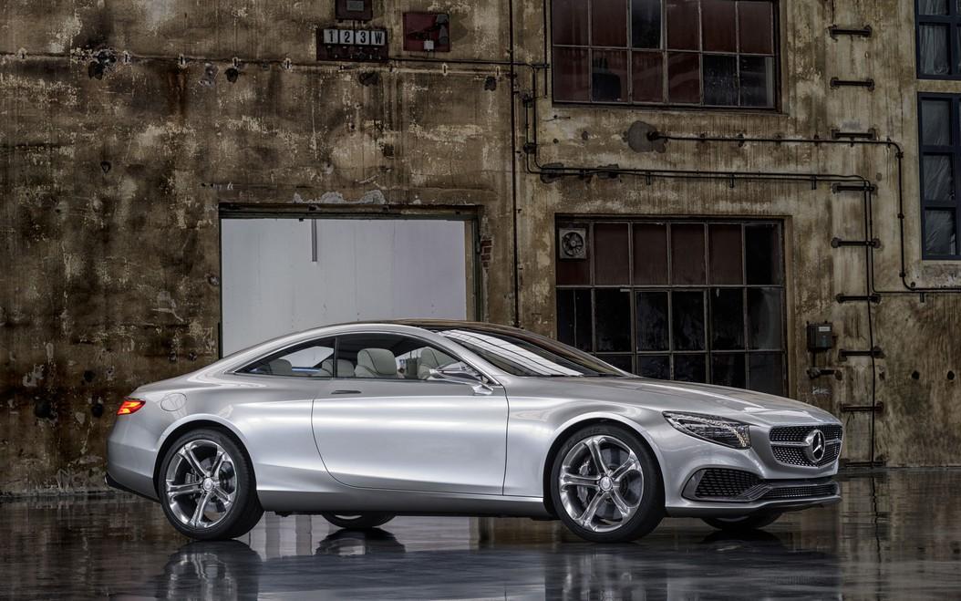 Mercedes Benz Unveils New Concept S Class At 2013