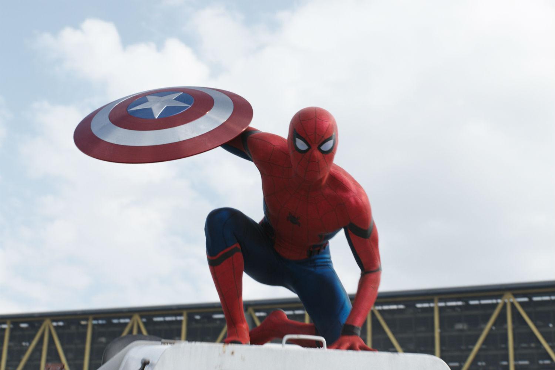 Image result for peter parker civil war movie