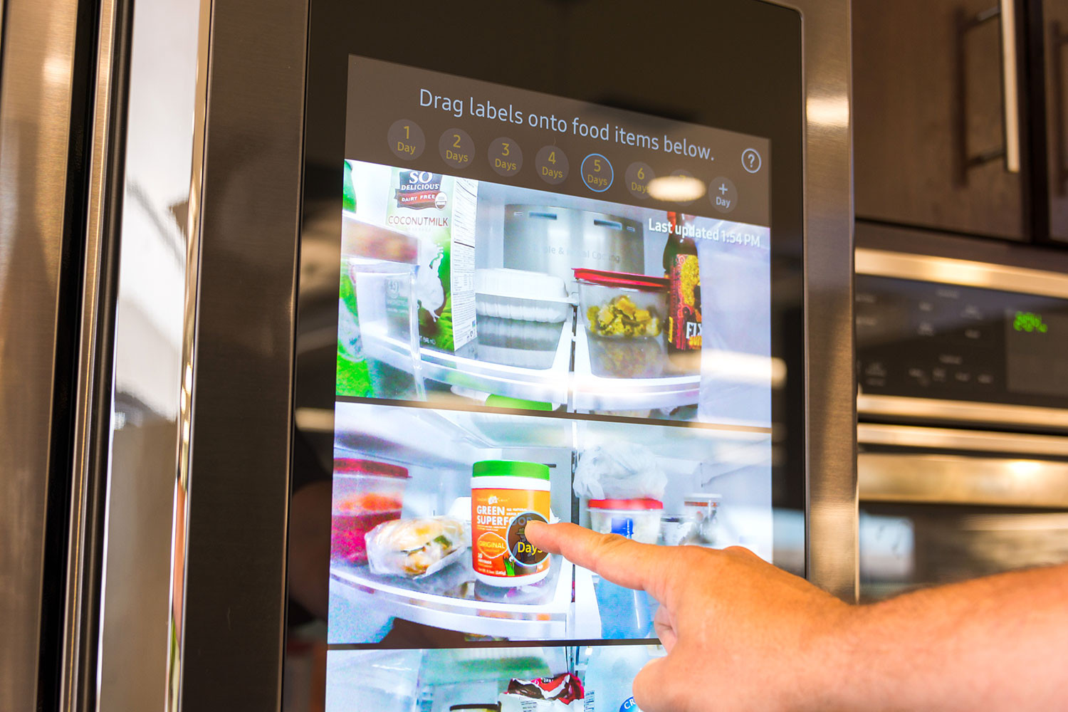 Need A Screen In The Kitchen Samsung Puts A Tablet In