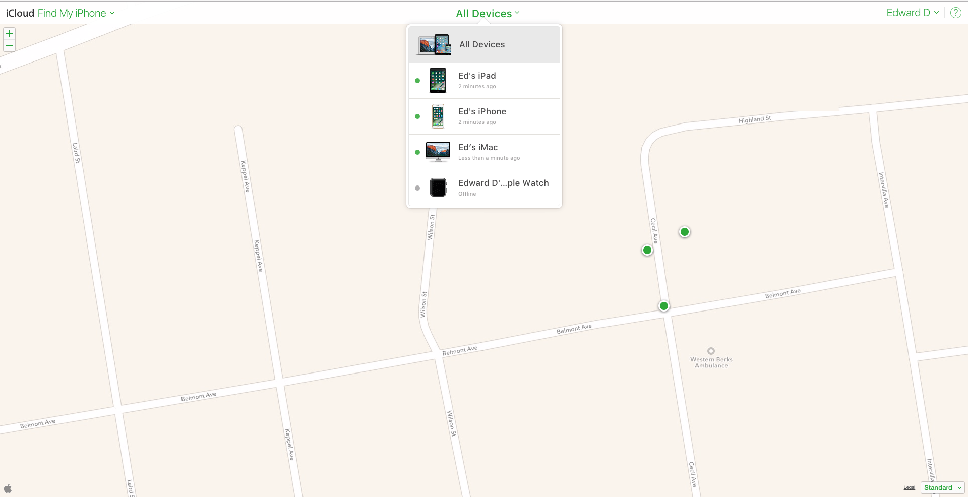 How To Use Find My Iphone On Your Mac Or Another Ios Device