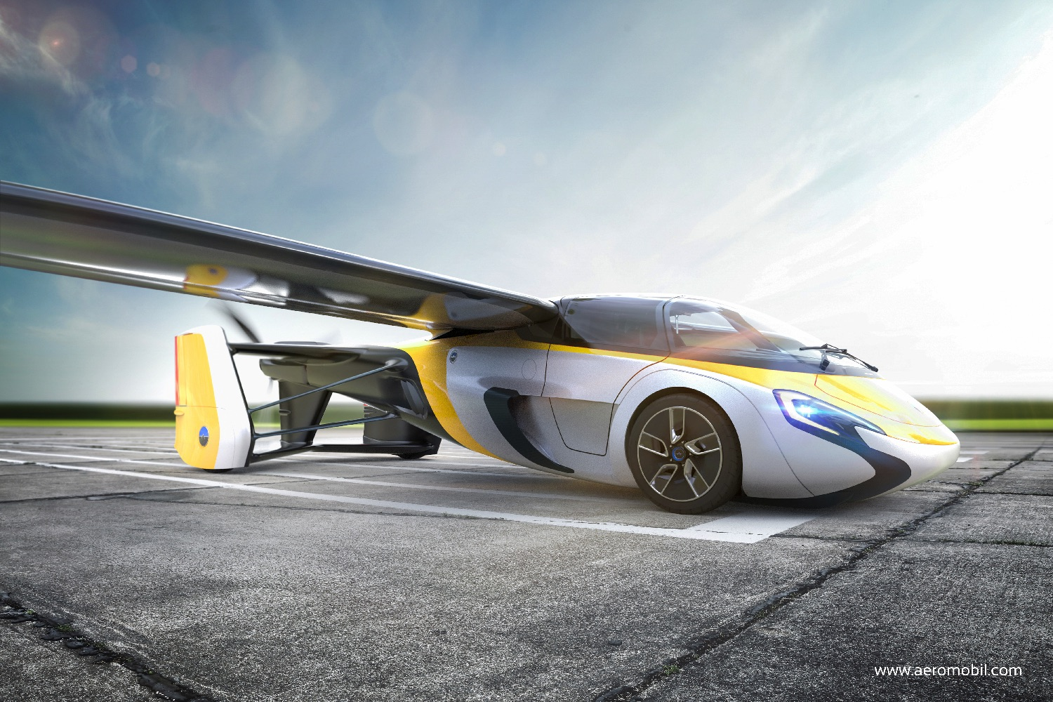 First Commercially Available Flying Car Will Debut At