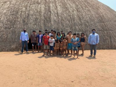 Em Gaúcha do Norte, técnicos da Empaer desenvolveram 17 projetos do Fomento Produtivo em aldeias indígenas do município.