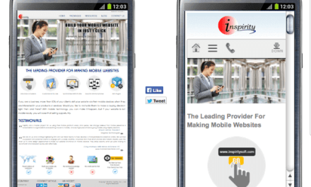 How to Take Your Website Mobile with Just One Click