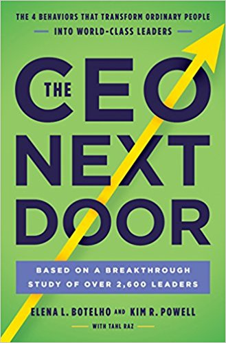 The CEO Next Door book title