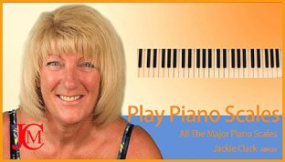 play piano scales teaching course for piano